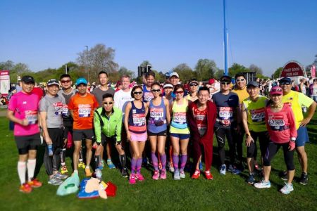 Group shot at Blackheath before going into the start zones